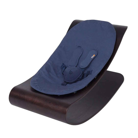 Bloom Coco Stylewood Lounger - Cappuccino + Navy Blue