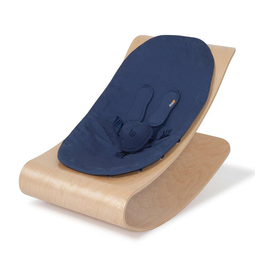 Bloom Coco Stylewood Lounger - Natural + Navy Blue
