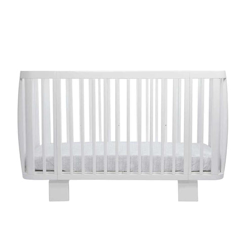 Bloom Retro Crib - Coconut White