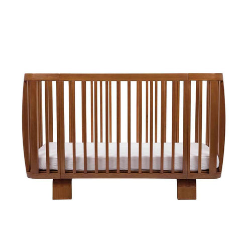 Bloom Retro Crib - Oak