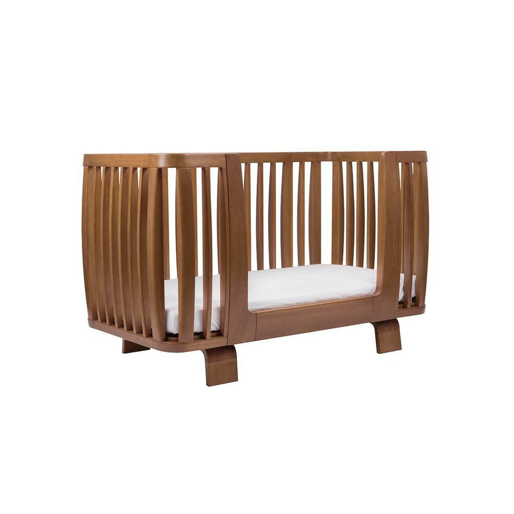 Bloom Retro Crib Toddler Rail - Oak Side