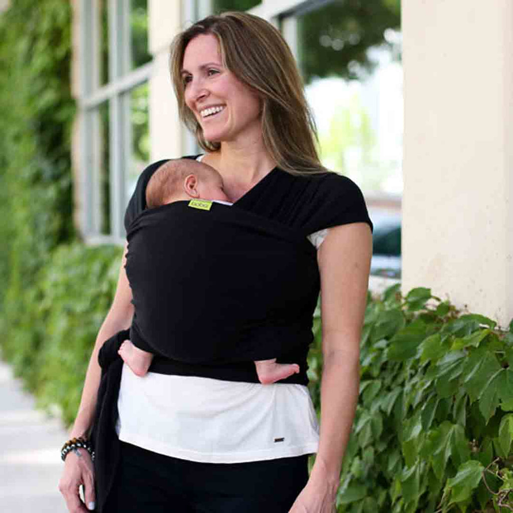 d5be8e6e663 ... Boba Bamboo Wrap - Black-Baby Carriers-Default- Natural Baby Shower