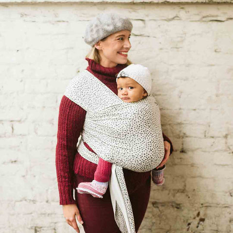 Boba Bamboo Wrap - Cobblestone-Baby Carriers-Default- Natural Baby Shower