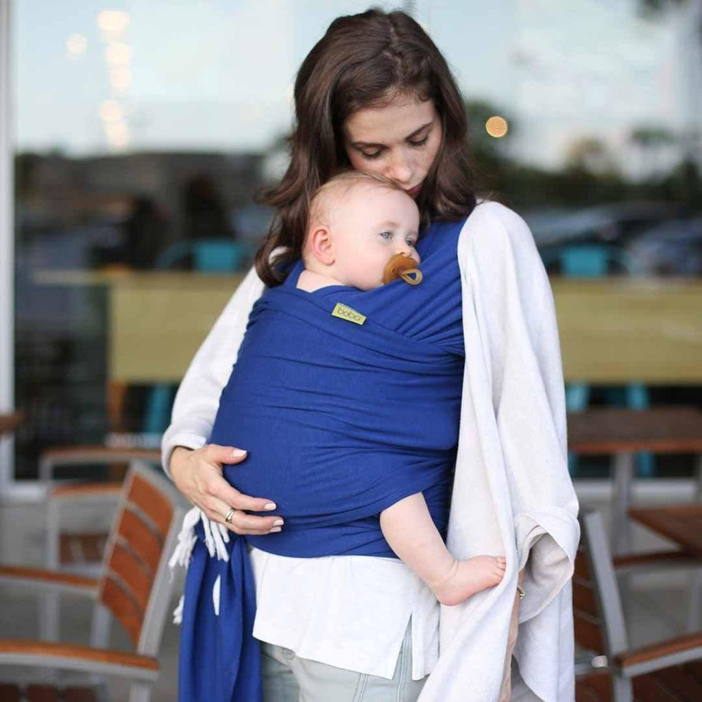 534f5be2d7c Boba Bamboo Wrap - Dark Blue-Baby Carriers-Default- Natural Baby Shower ...