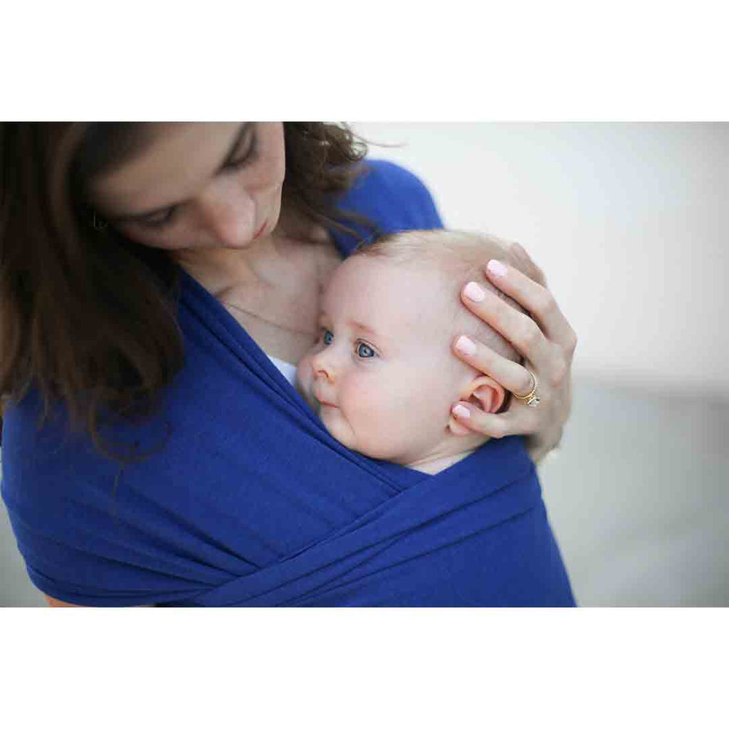 5f921f3c366 ... Boba Bamboo Wrap - Dark Blue-Baby Carriers-Default- Natural Baby Shower  ...
