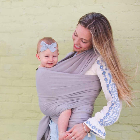 Boba Bamboo Wrap - Light Grey