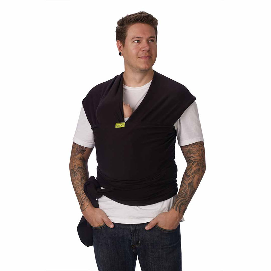 Boba Wrap - Black-Baby Carriers-Default- Natural Baby Shower