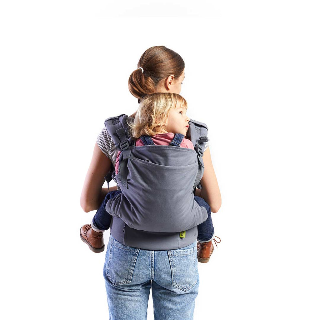 Boba X Carrier - Grey-Baby Carriers-Default- Natural Baby Shower