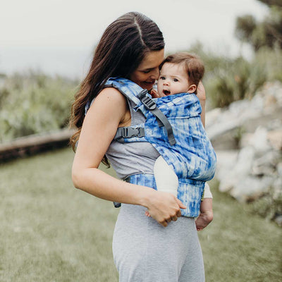 Boba X Carrier - Shibori-Baby Carriers-Default- Natural Baby Shower