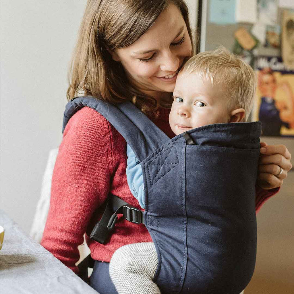 Boba 4GS Baby Carrier - Navy-Baby Carriers-Default- Natural Baby Shower