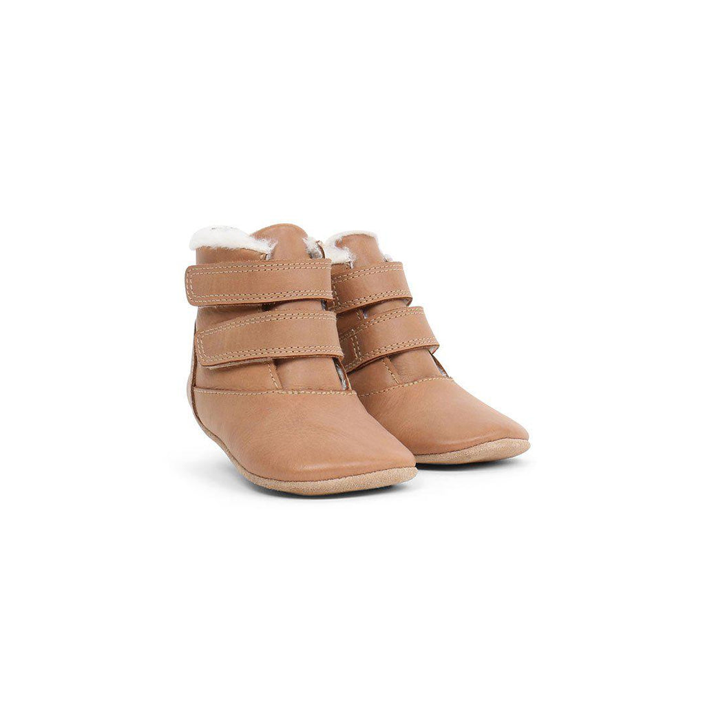 Bobux Soft Sole Aspen Merino Lined Boots - Caramel-Boots- Natural Baby Shower