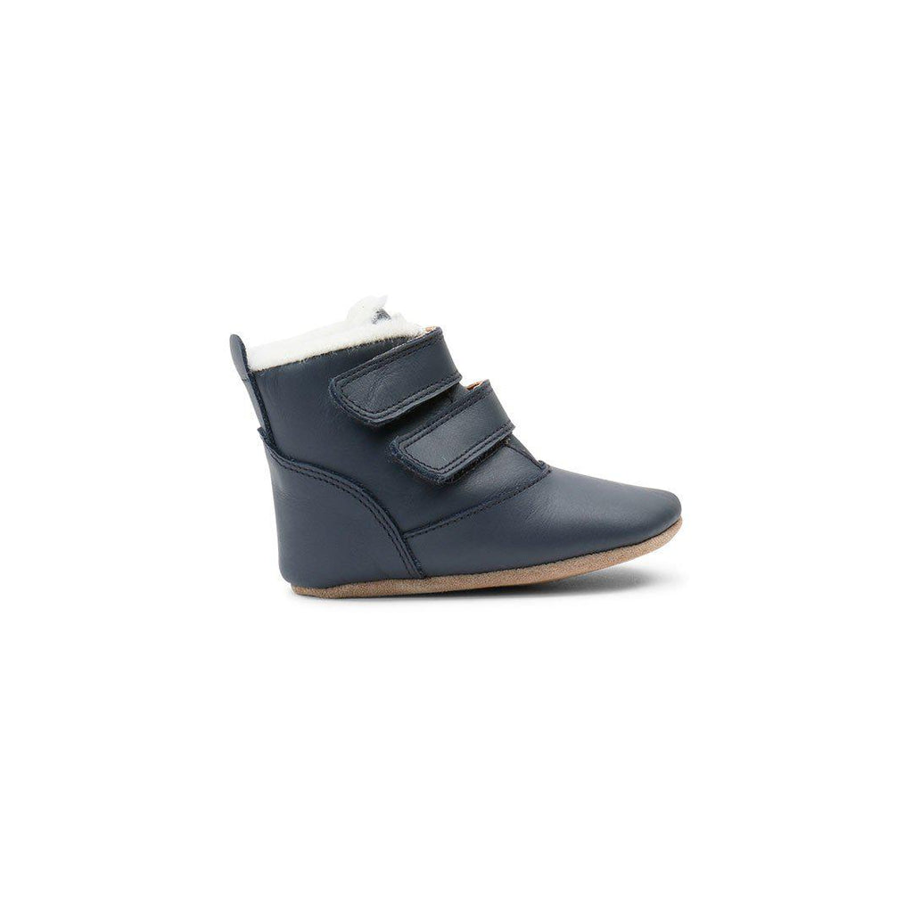 Bobux Soft Sole Aspen Merino Lined Boots - Navy-Boots- Natural Baby Shower