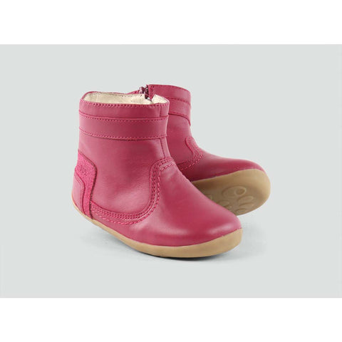 Bobux Bolt Boots - Rose Side