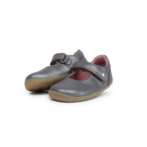 Bobux Step Up Delight Shoes - Charcoal-Shoes- Natural Baby Shower