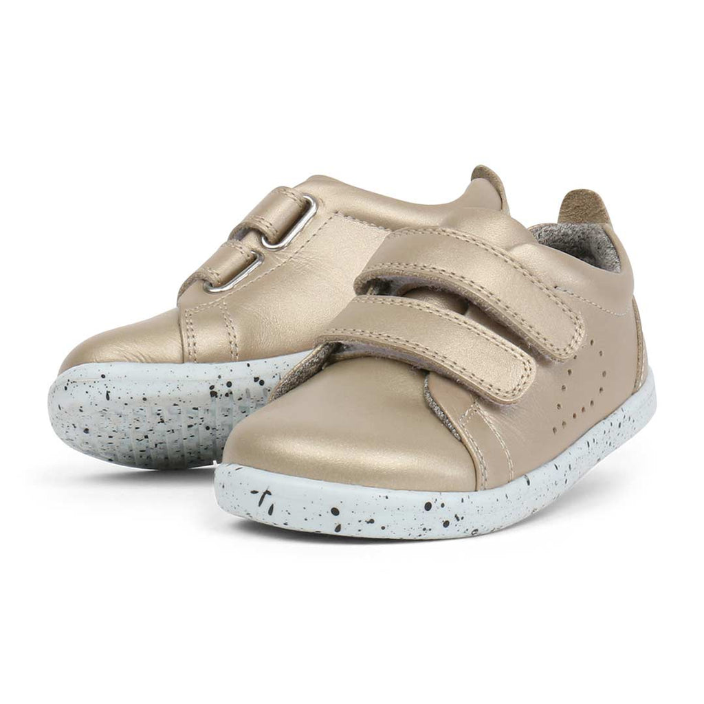 Bobux Grass Court Shoes - Gold-Shoes- Natural Baby Shower