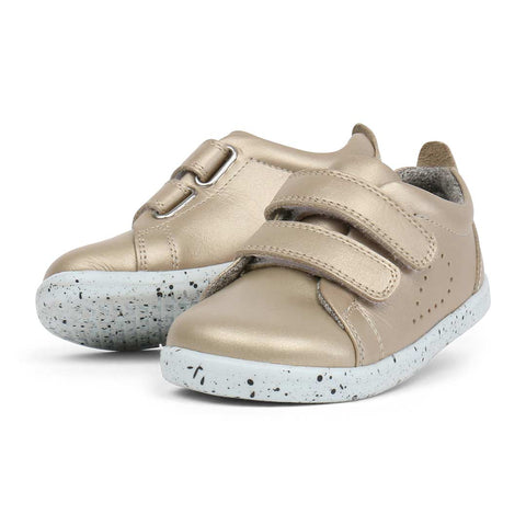 Bobux I-Walk Grass Court Shoes - Gold-Shoes- Natural Baby Shower