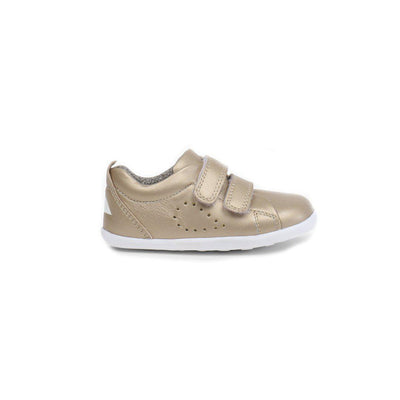 Bobux Step Up Grass Court Trainers - Gold-Shoes- Natural Baby Shower