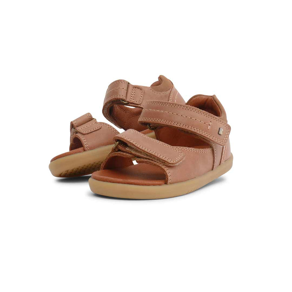 79833f4e7 ... Bobux I-Walk Driftwood Sandals - Caramel-Sandals- Natural Baby Shower
