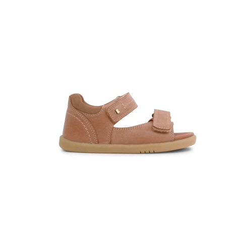 Bobux I-Walk Driftwood Sandals - Caramel-Sandals- Natural Baby Shower