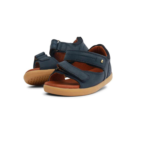 Bobux I-Walk Driftwood Sandals - Navy-Sandals- Natural Baby Shower