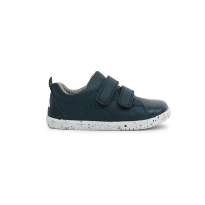 Bobux I-Walk Grass Court Shoes (AW19) - Navy-Shoes- Natural Baby Shower