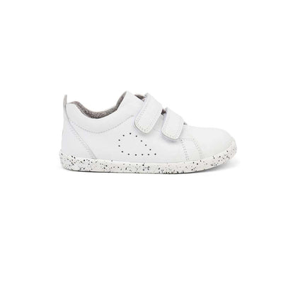 Bobux I-Walk Grass Court Trainers - 2020 - White-Shoes- Natural Baby Shower