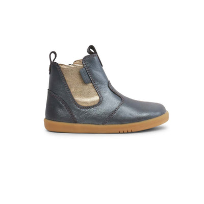 Bobux I-Walk Jodhpur Boots (AW19) - Charcoal Shimmer-Boots- Natural Baby Shower