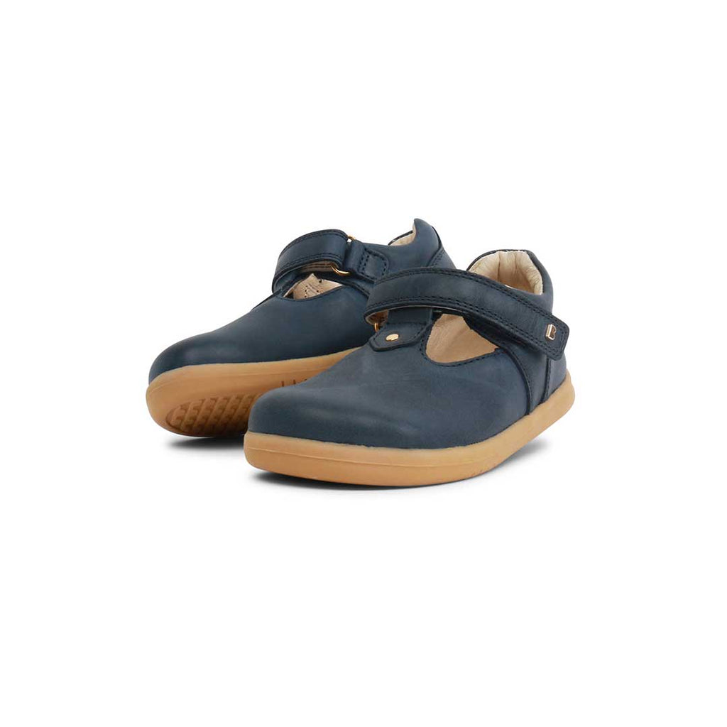 Bobux I-Walk Louise Shoes - Navy-Shoes- Natural Baby Shower