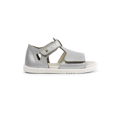 Bobux I-Walk Mirror Sandals - 2020 - Silver-Sandals- Natural Baby Shower