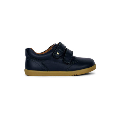 Bobux I-Walk Port Dress Shoes - Navy - 2020-Shoes- Natural Baby Shower