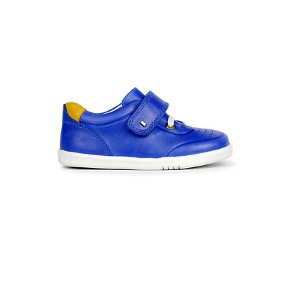 Bobux I-Walk Ryder Trainers - 2020 - Blueberry & Chartreuse-Shoes- Natural Baby Shower