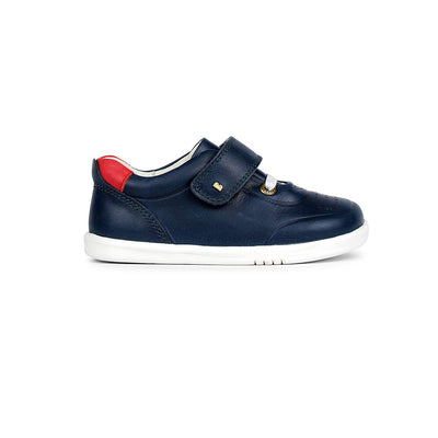 Bobux I-Walk Ryder Trainers - 2020 - Navy & Red-Shoes- Natural Baby Shower