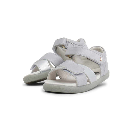 Bobux I-Walk Sail Sandals - Silver-Sandals- Natural Baby Shower