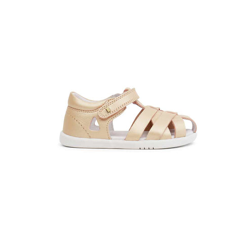 Bobux I-Walk Tropicana Sandals - Gold-Sandals- Natural Baby Shower