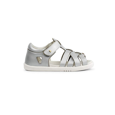 Bobux I-Walk Tropicana Sandals - 2020 - Silver-Sandals- Natural Baby Shower