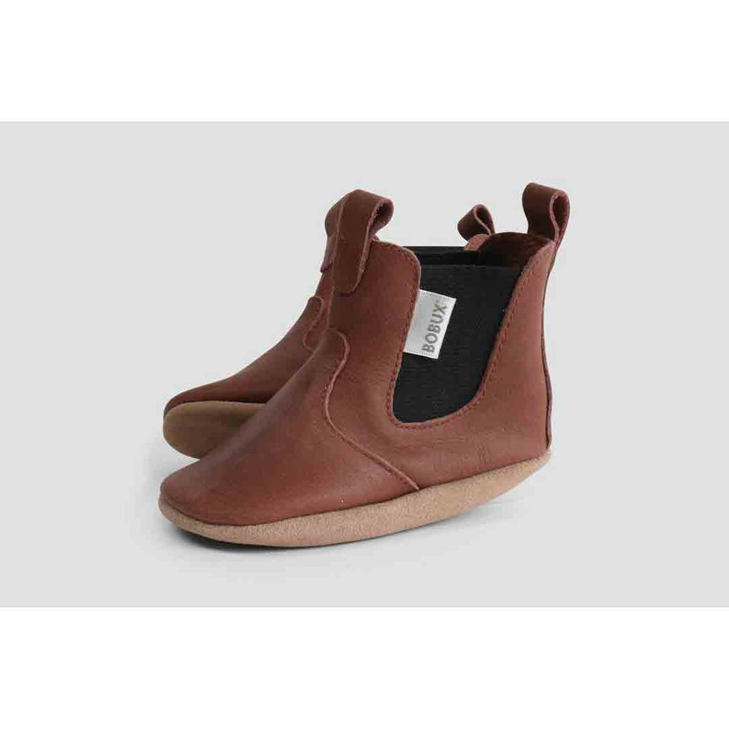 Bobux Mini Jodphur Boots - Toffee Side