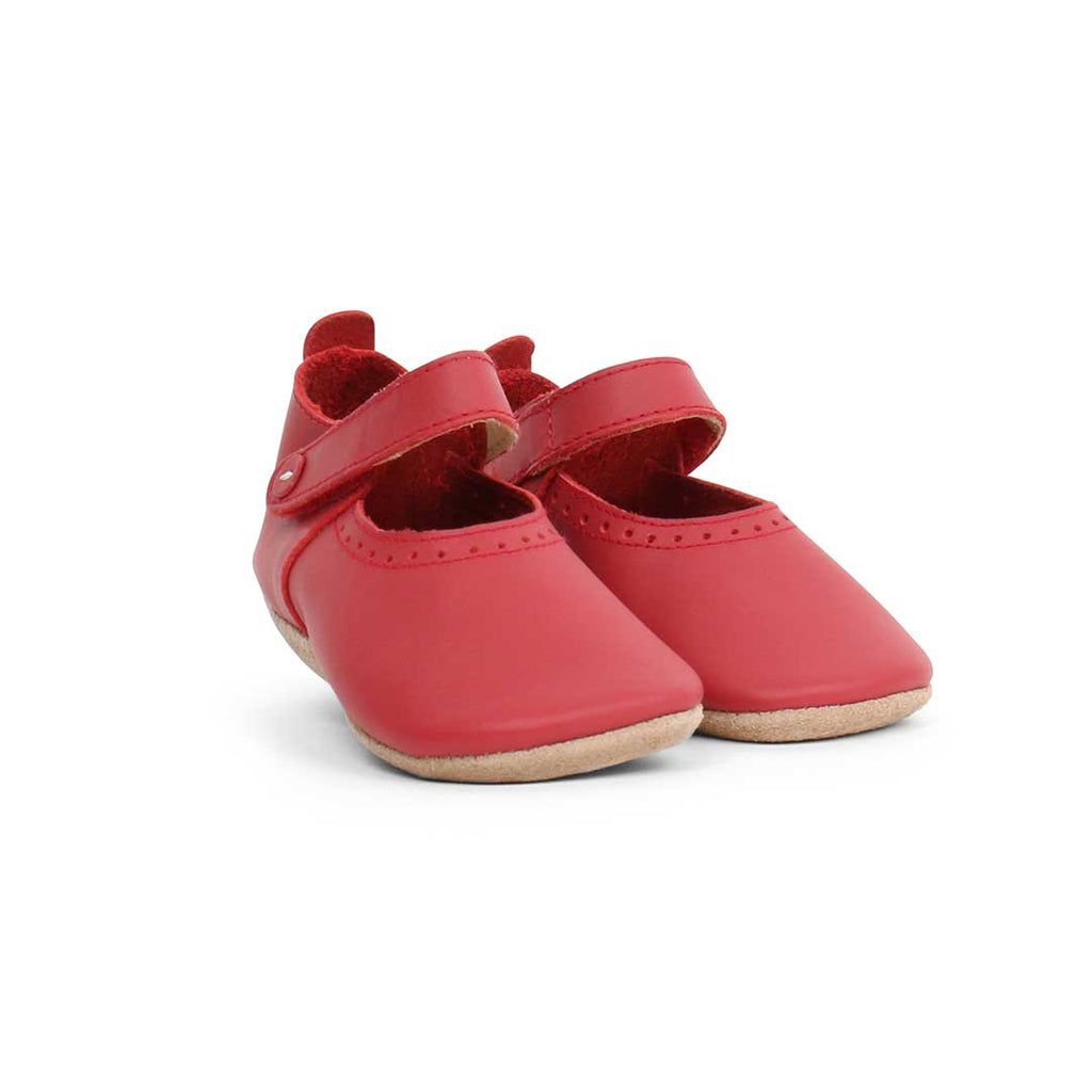 Bobux Shoes - Red Delight-Soft Soles- Natural Baby Shower