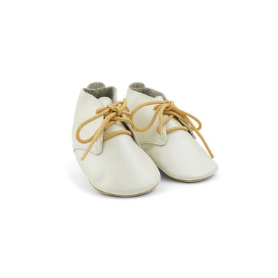 Bobux Soft Sole Shoes - Desert Lace - Pearl-Soft Soles- Natural Baby Shower