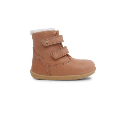 Bobux Step Up Aspen Boots (AW19) - Caramel-Boots- Natural Baby Shower