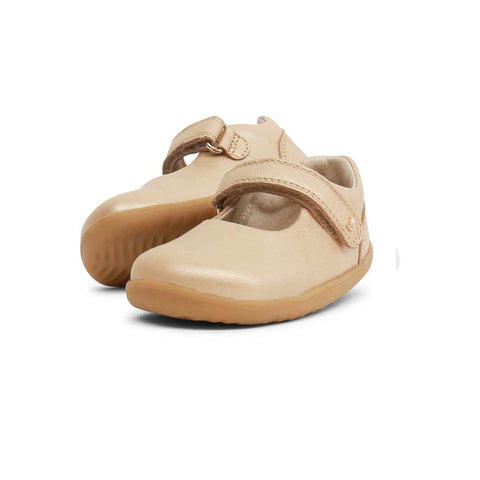 Bobux Step Up Delight Shoes - Gold-Shoes- Natural Baby Shower