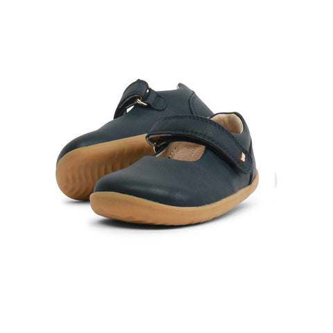 Bobux Step Up Delight Shoes - Navy-Shoes- Natural Baby Shower