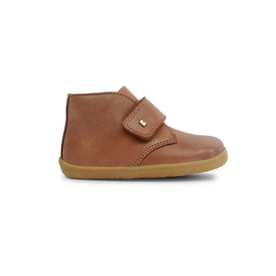 Bobux Step-Up Desert Boots - Caramel - 2020-Boots- Natural Baby Shower