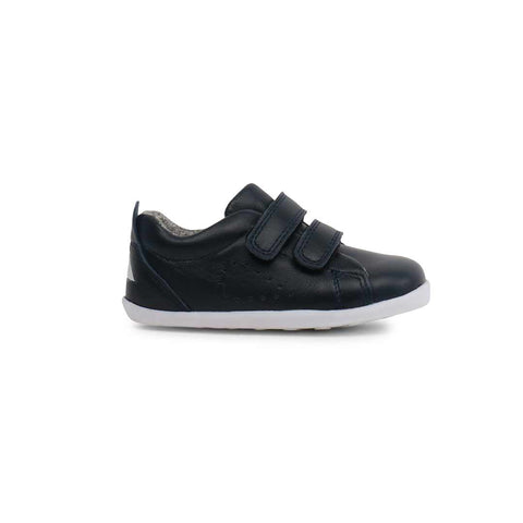 Bobux Step Up Grass Court Trainers - Navy-Shoes- Natural Baby Shower