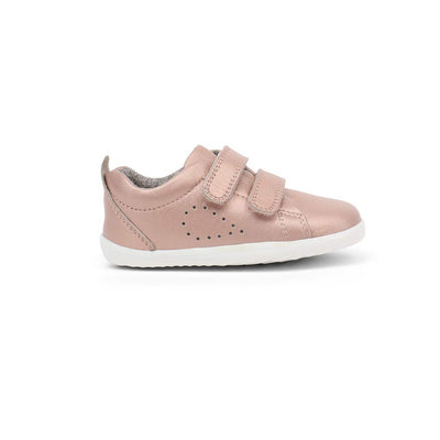 Bobux Step-Up Grass Court Trainers - 2020 - Rose Gold-Shoes- Natural Baby Shower