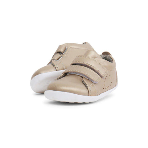 Bobux Step Up Grass Court (AW19) - Gold-Shoes- Natural Baby Shower