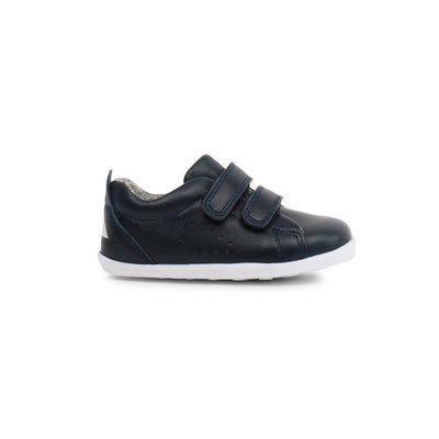 Bobux Step Up Grass Court (AW19) - Navy-Shoes- Natural Baby Shower