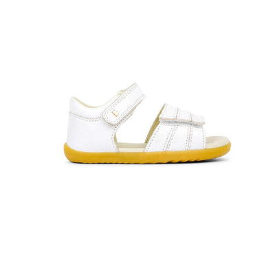Bobux Step-Up Hampton Sandals - 2020 - White-Sandals- Natural Baby Shower