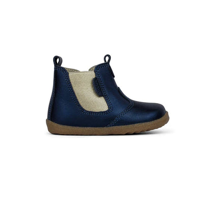 Bobux Step-Up Jodhpur Boots - Navy Shimmer - 2020-Boots- Natural Baby Shower