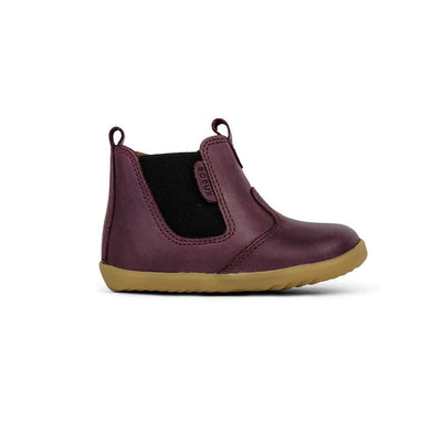 Bobux Step-Up Jodhpur Boots - Plum - 2020-Boots- Natural Baby Shower