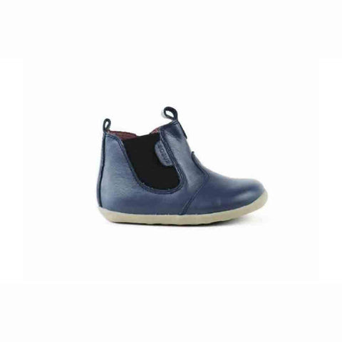 Bobux Step Up Jodphur Boots - Navy